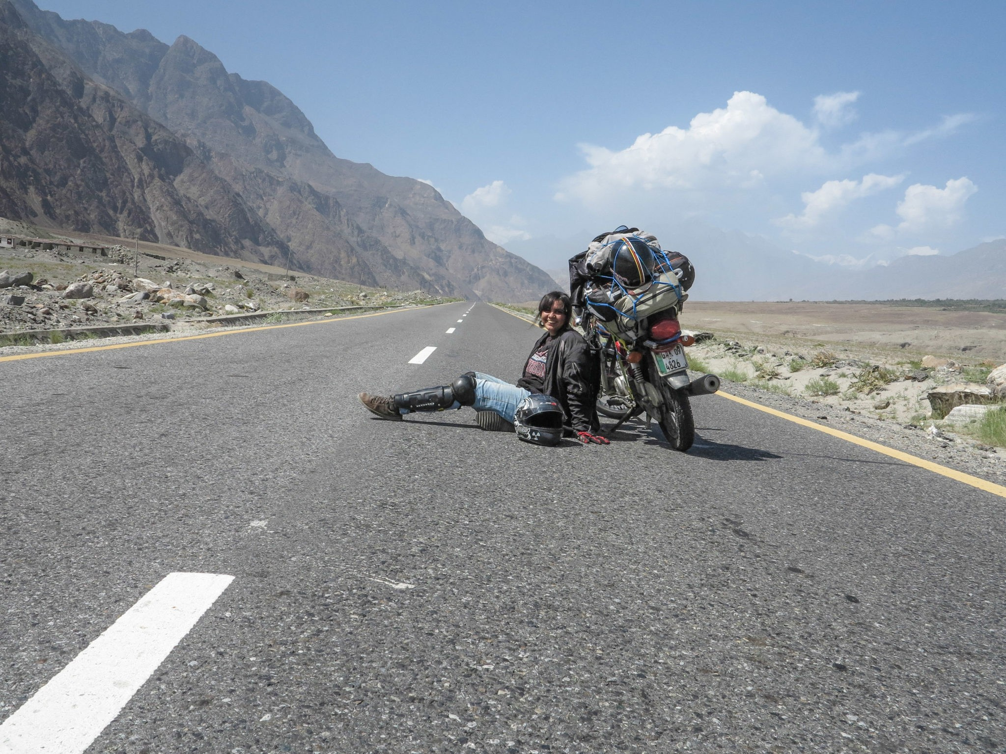 BIKER CHICK FORGES OWN PATH IN PAKISTAN