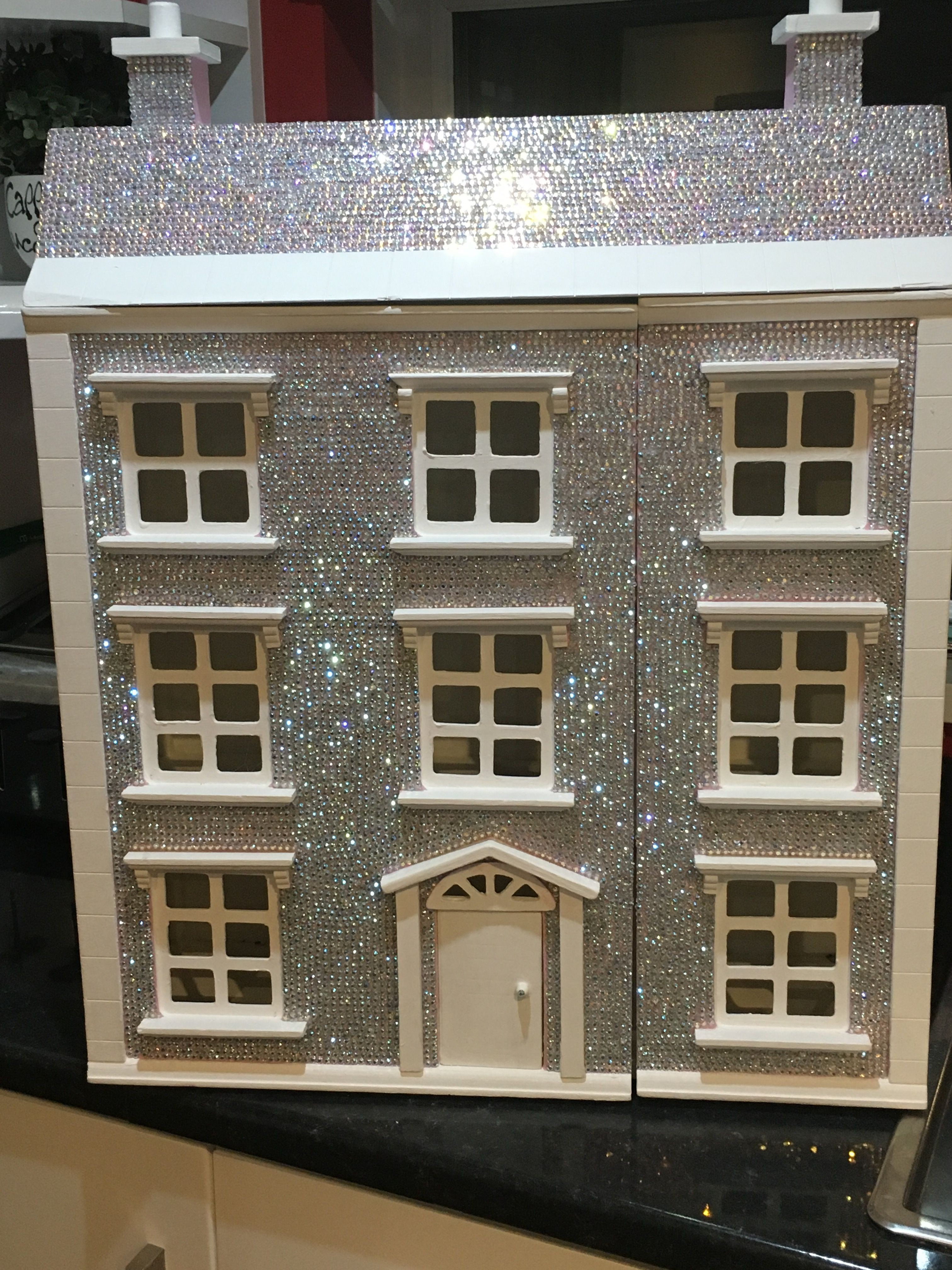 Blinged out doll house diy for my girl
