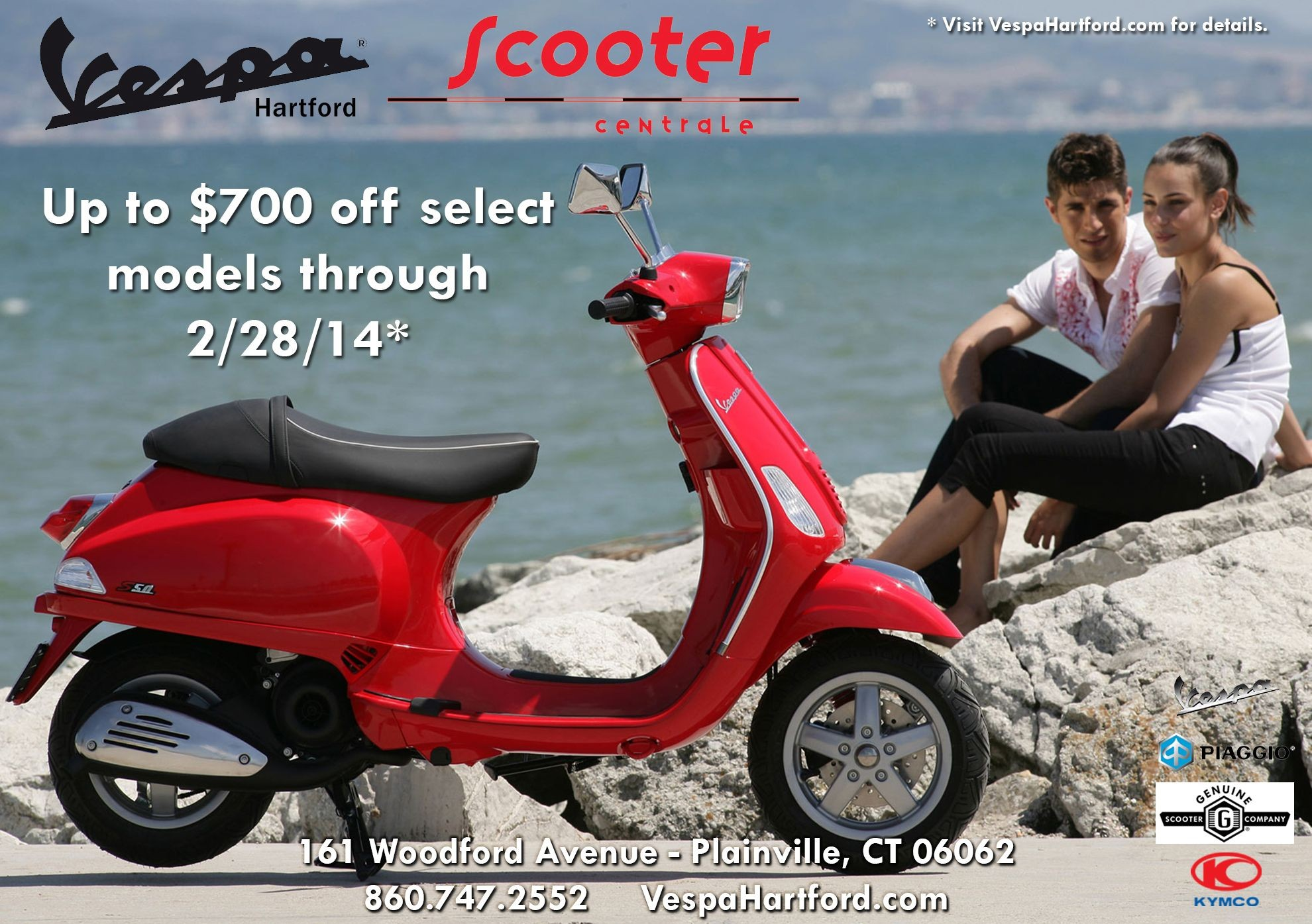 52 best Specials & fers from Vespa Hartford images on Pinterest