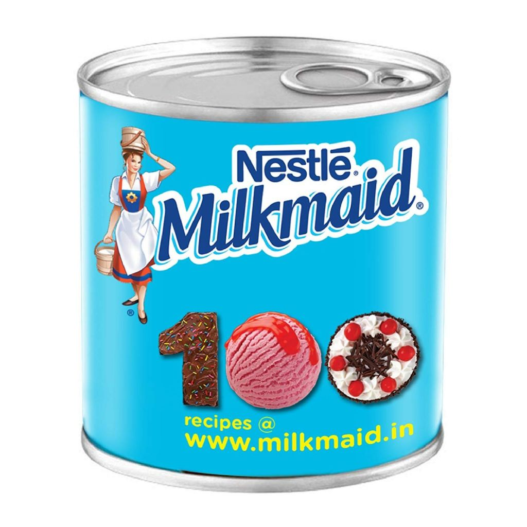 Nestle MILKMAID Sweetened Condensed Milk 400g Tin Amazon Grocery & Gourmet Foods