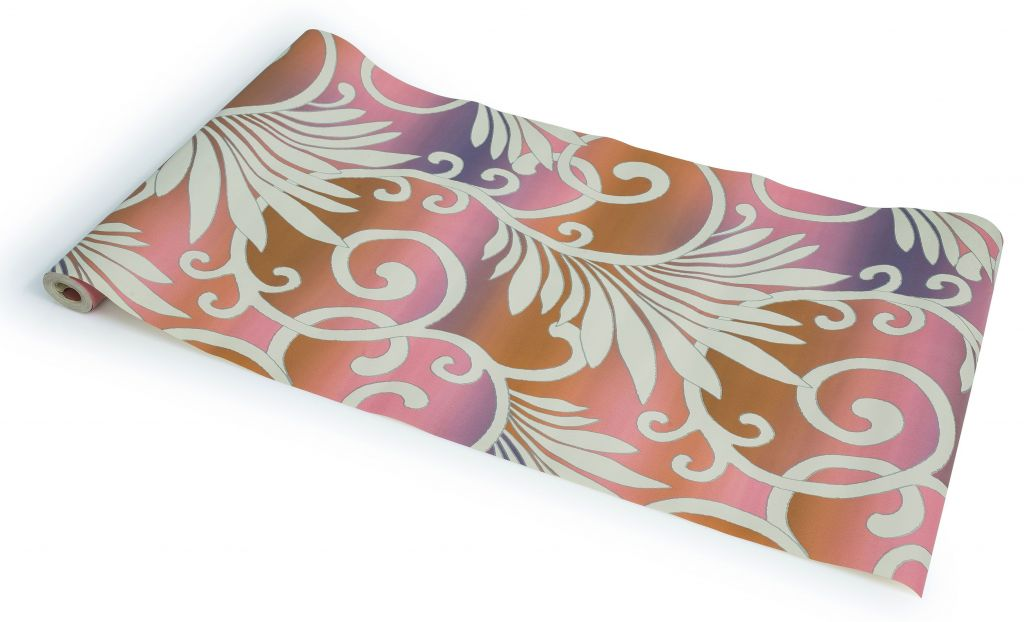 Paper Processers Imported Vinyl Coated Washable Wallpaper W1506 Covers approximately 50 square Feet