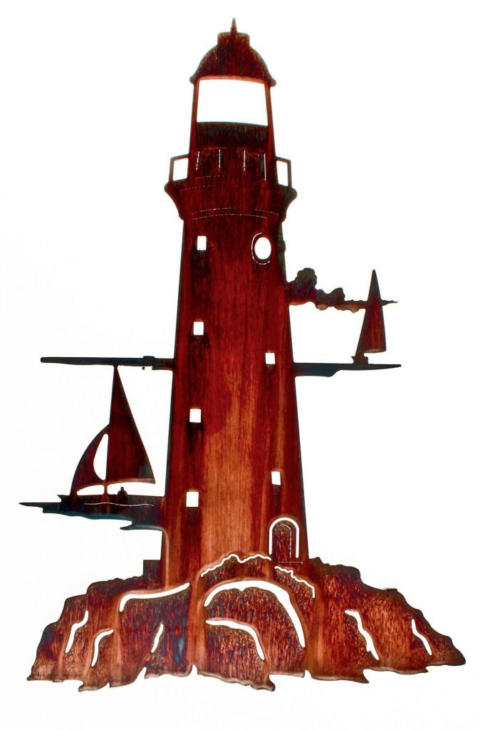"""This elaborate metal wall art will make the perfect addition to your ocean sea or nautical themed decor Measurements 14 5"""" width x 24"""" height Color"""