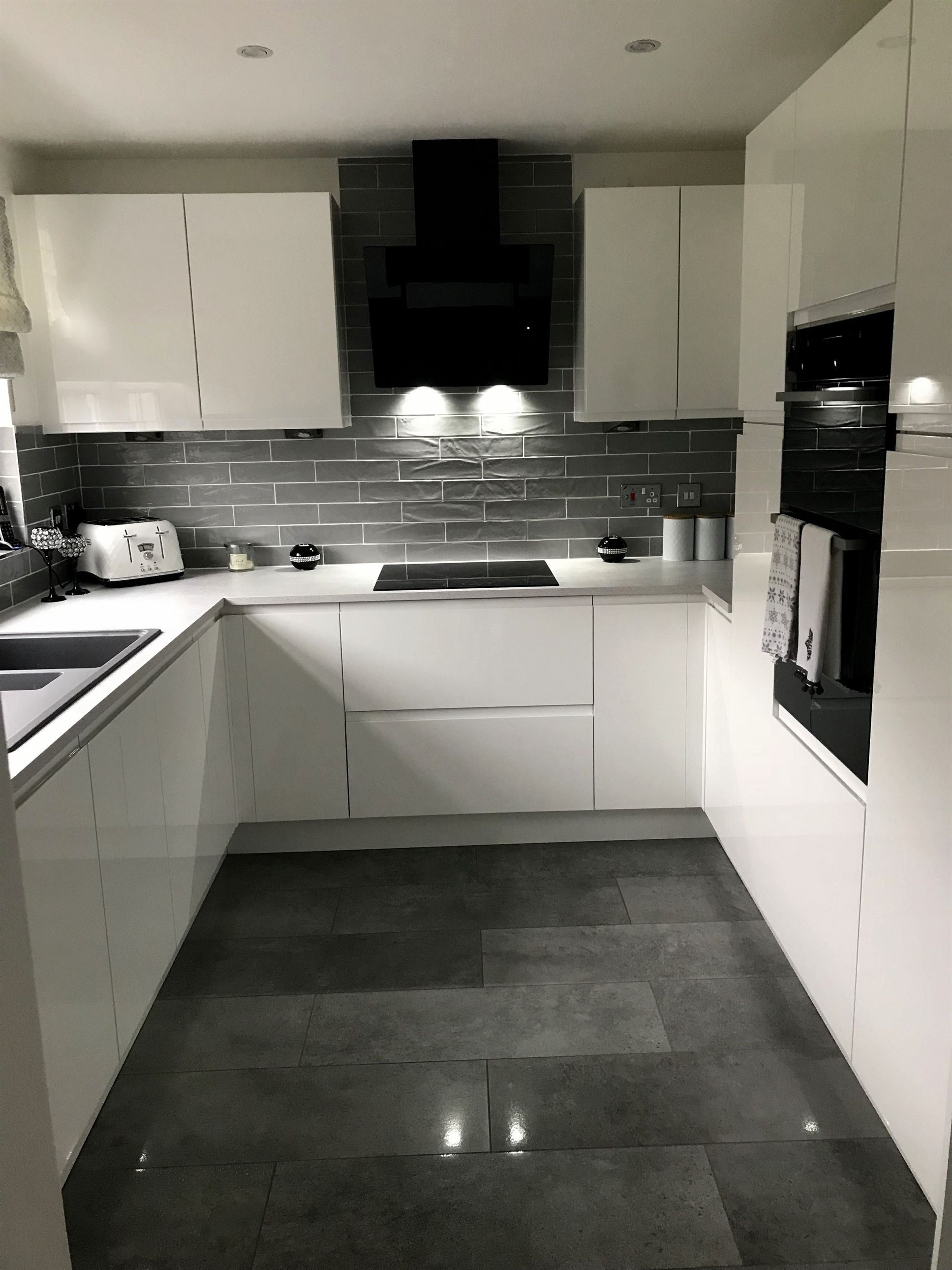 Modern style kitchen with fantastic storage capacity contemporaryKitchens
