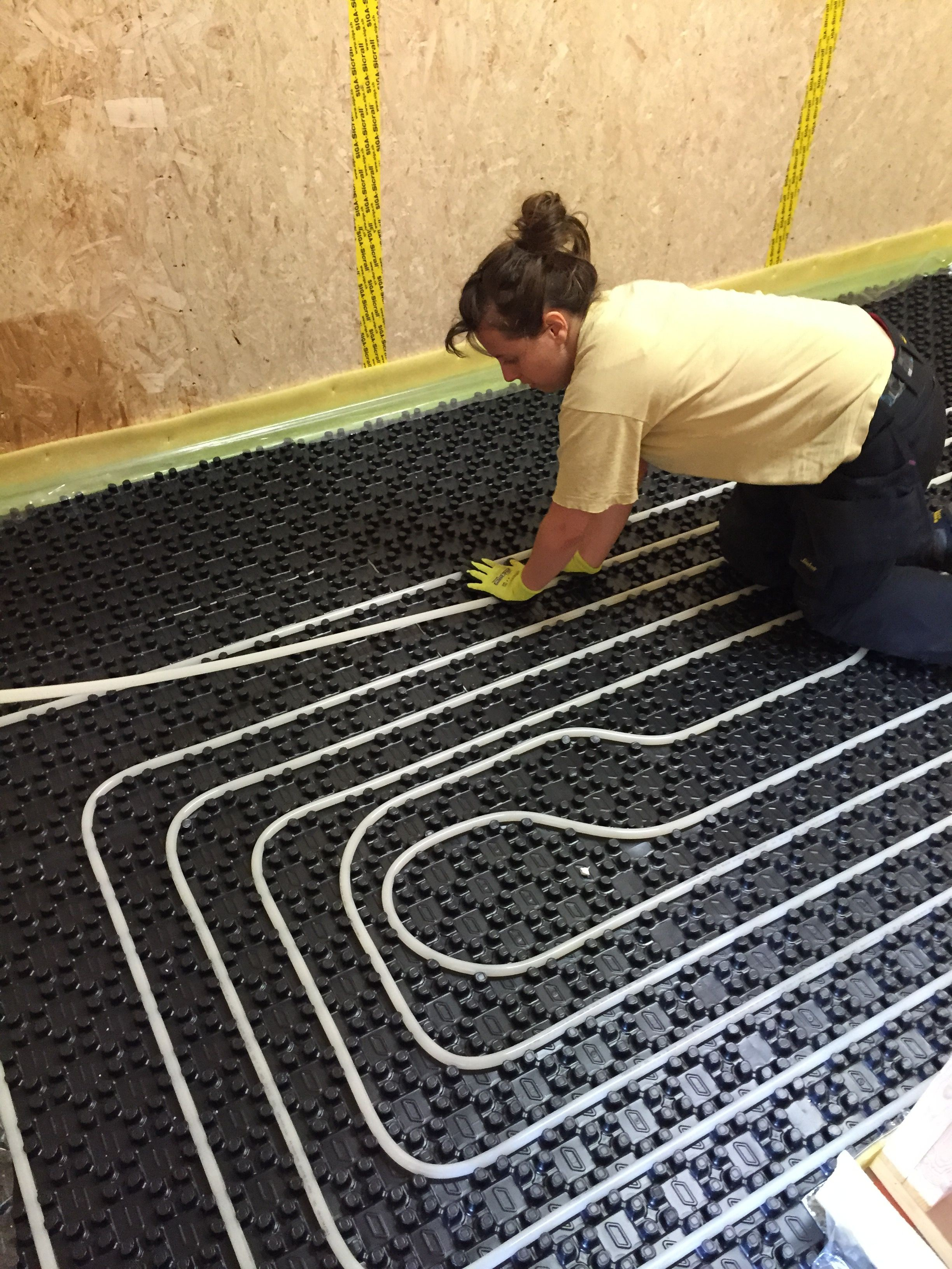 Wallpaper Dinding 3d Bogor Terbagus Untuk How to Install A Water Based Hydronic Floor Heating System at Home