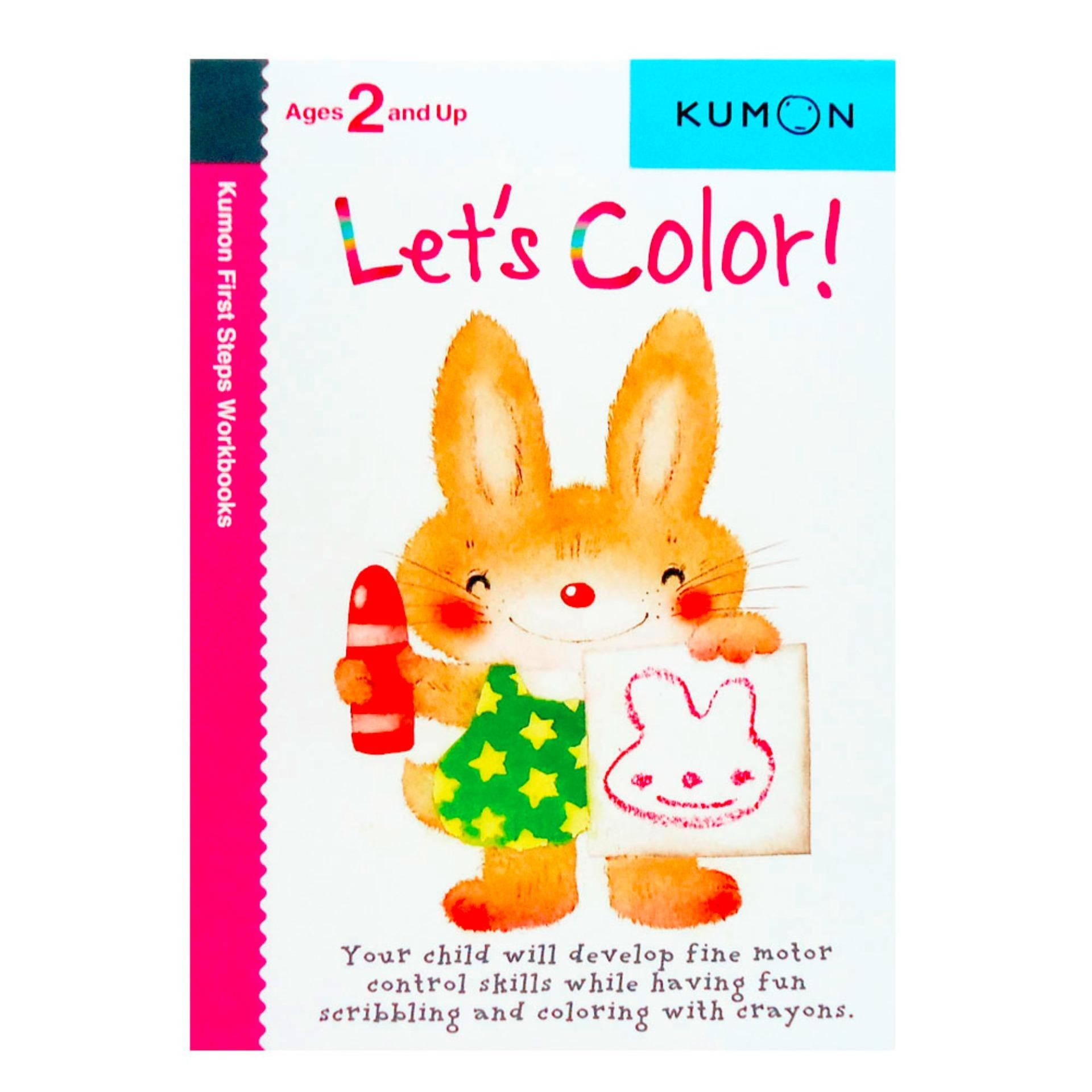 Genius Buku Anak Kumon First Steps Workbooks LET S COLOR Ages 2 And Up
