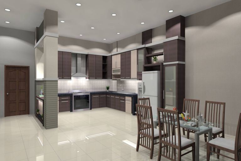 Contoh Wallpaper Dapur