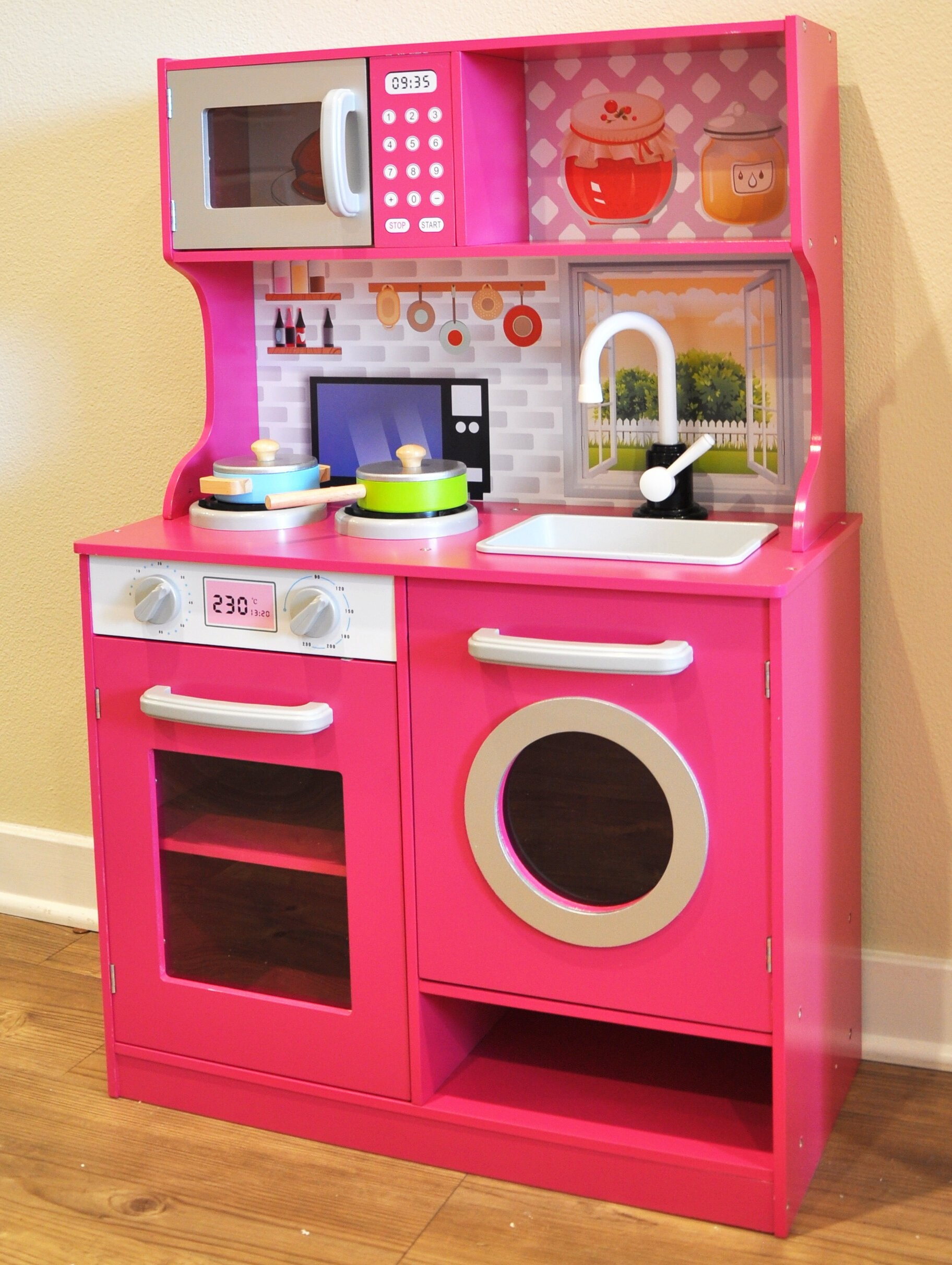 kids play kitchen set