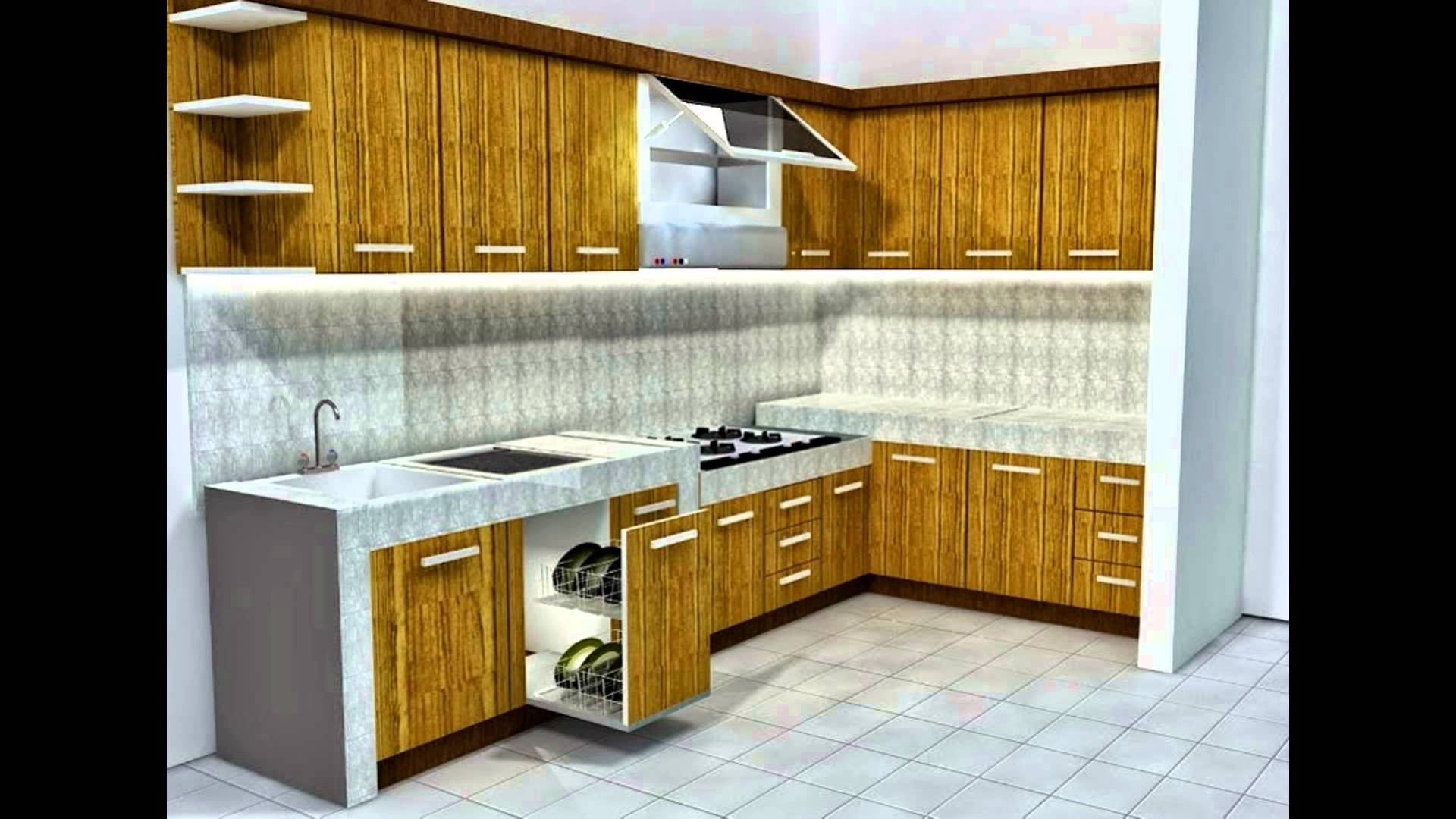 Tips Desain Dapur Minimalis Sederhana Youtube