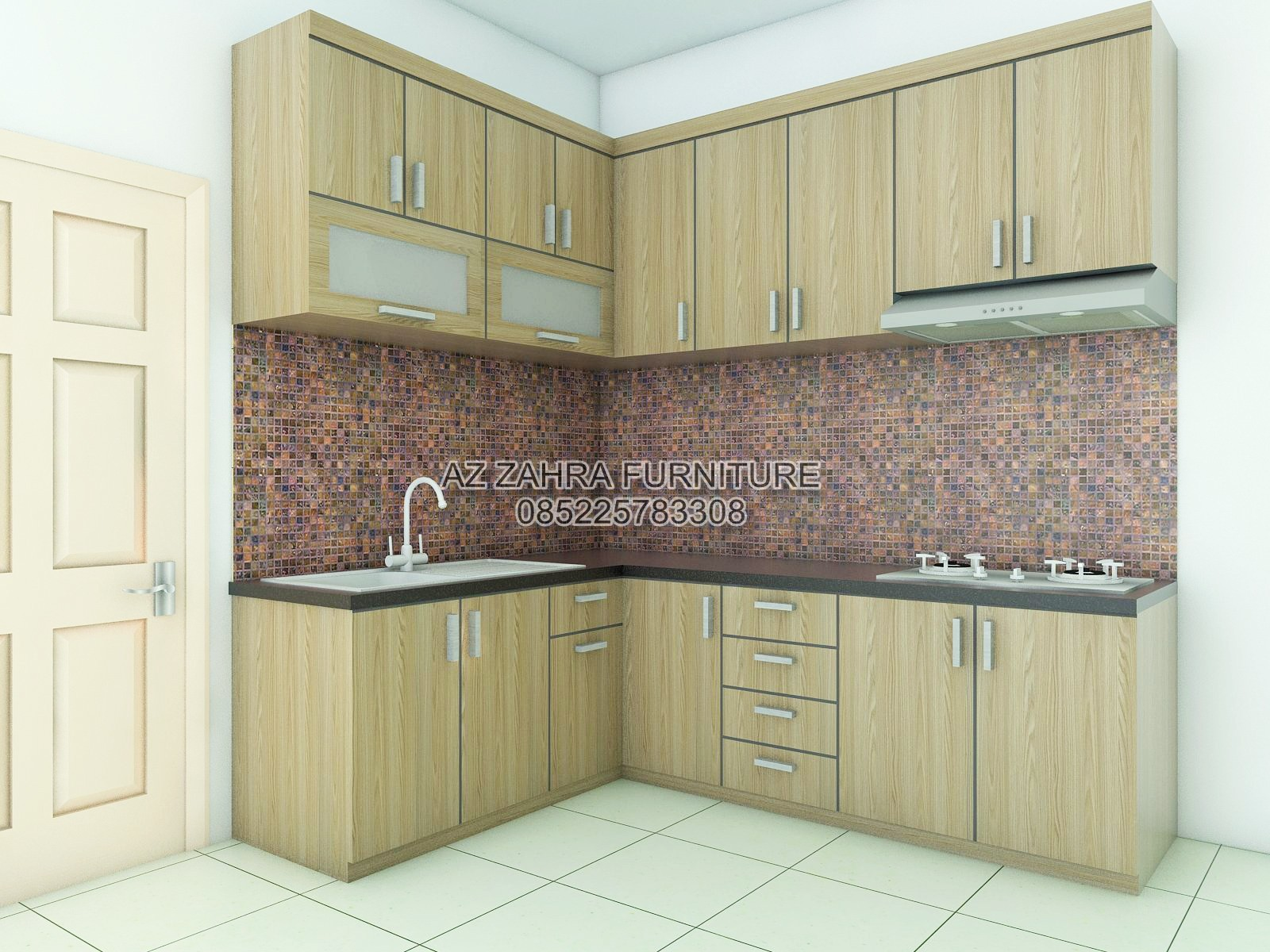 Kitchen Set Minimalis Semarang • CV Azzahra Furniture