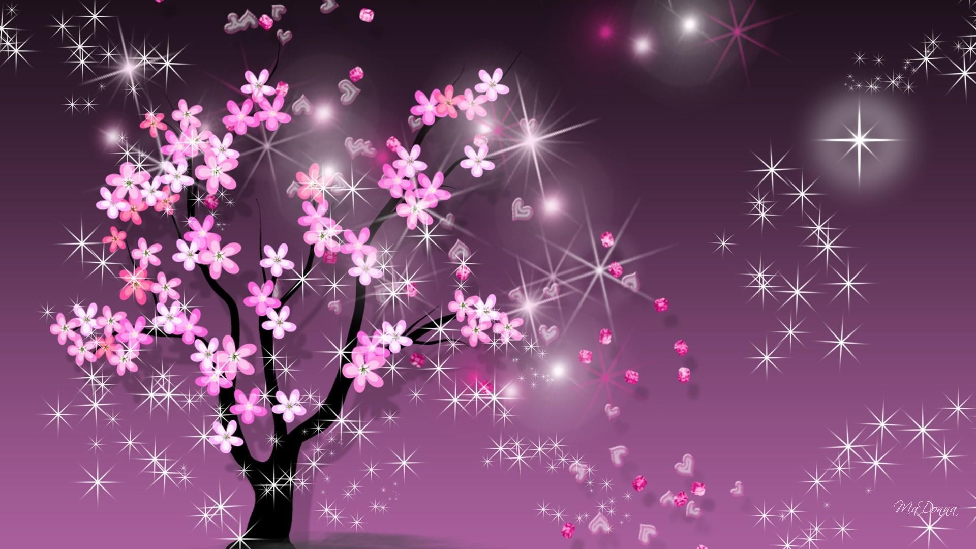 Wallpaper Dinding Bunga Sakura Paling Indah Untuk Sparkle Wallpapers