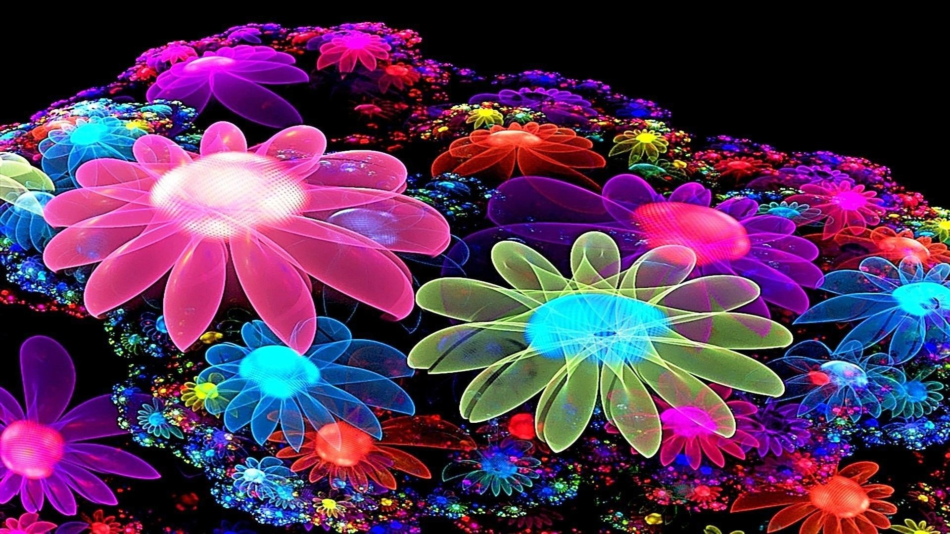 Colorful Flower Wallpaper 3D Best HD Wallpapers
