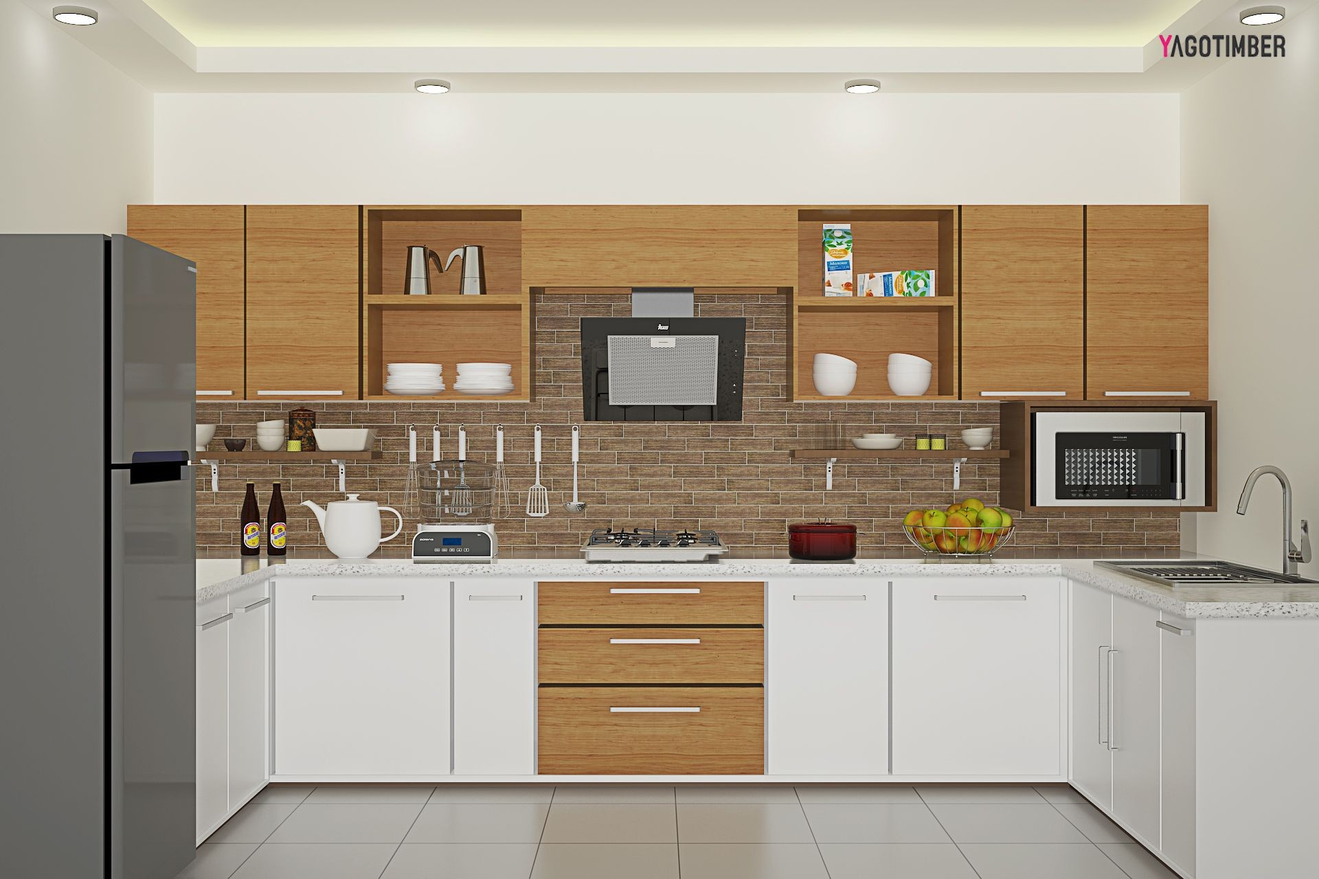 Design Kitchen Set Rumah Minimalis Terbagus Untuk is A U Shaped Layout the Right Choice for Your Kitchen — and if so