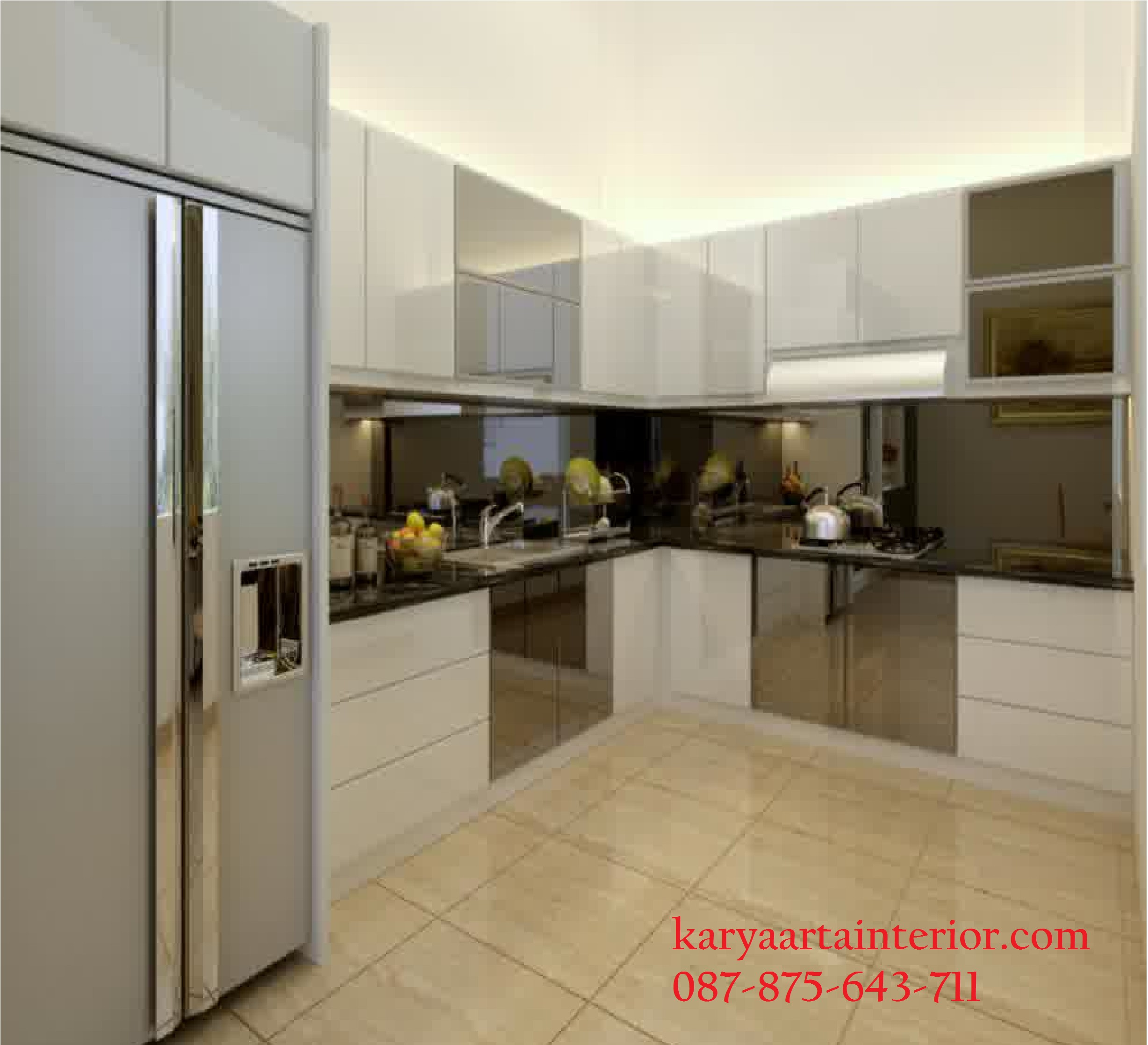 Kitchen Set Hpl Mewah Karya Arta Interior