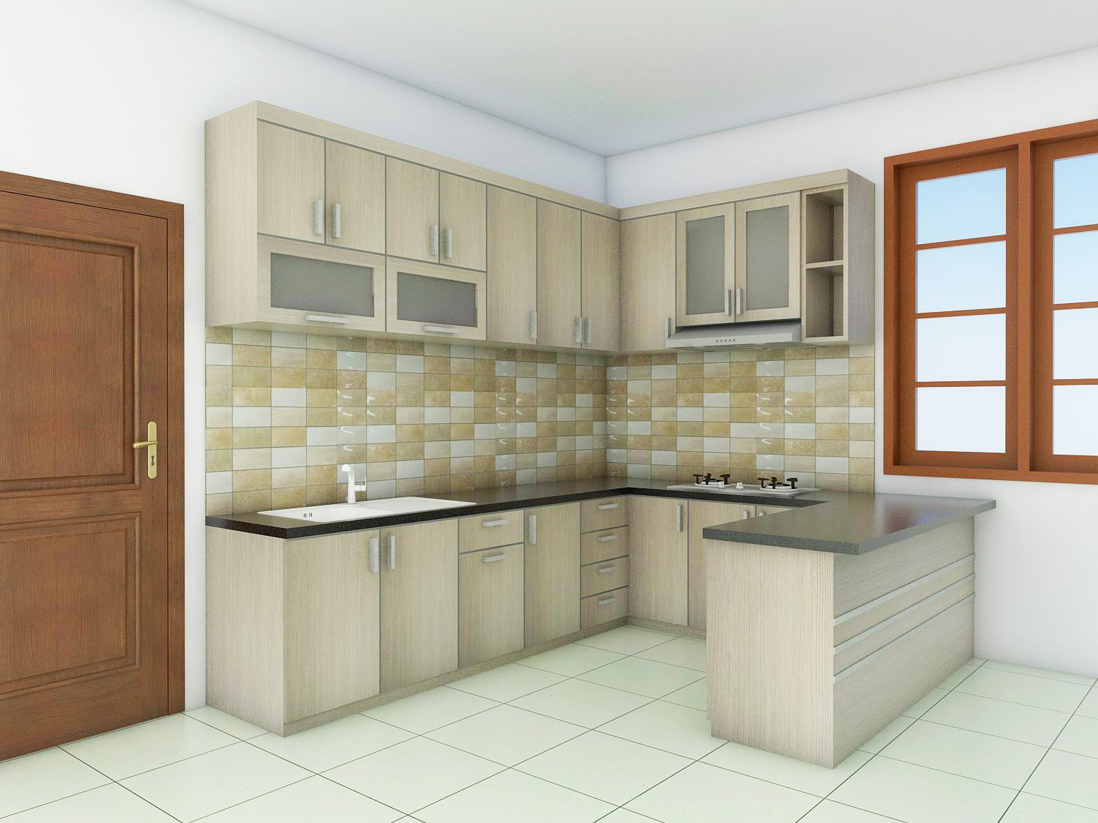 Kitchen Set Minimalis Semarang
