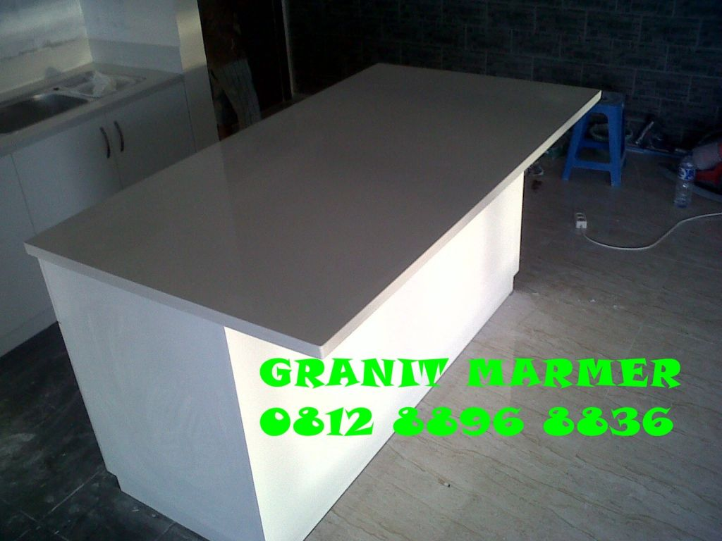 MEJA COUNTER MEJA MINI BAR GRANIT MARMER