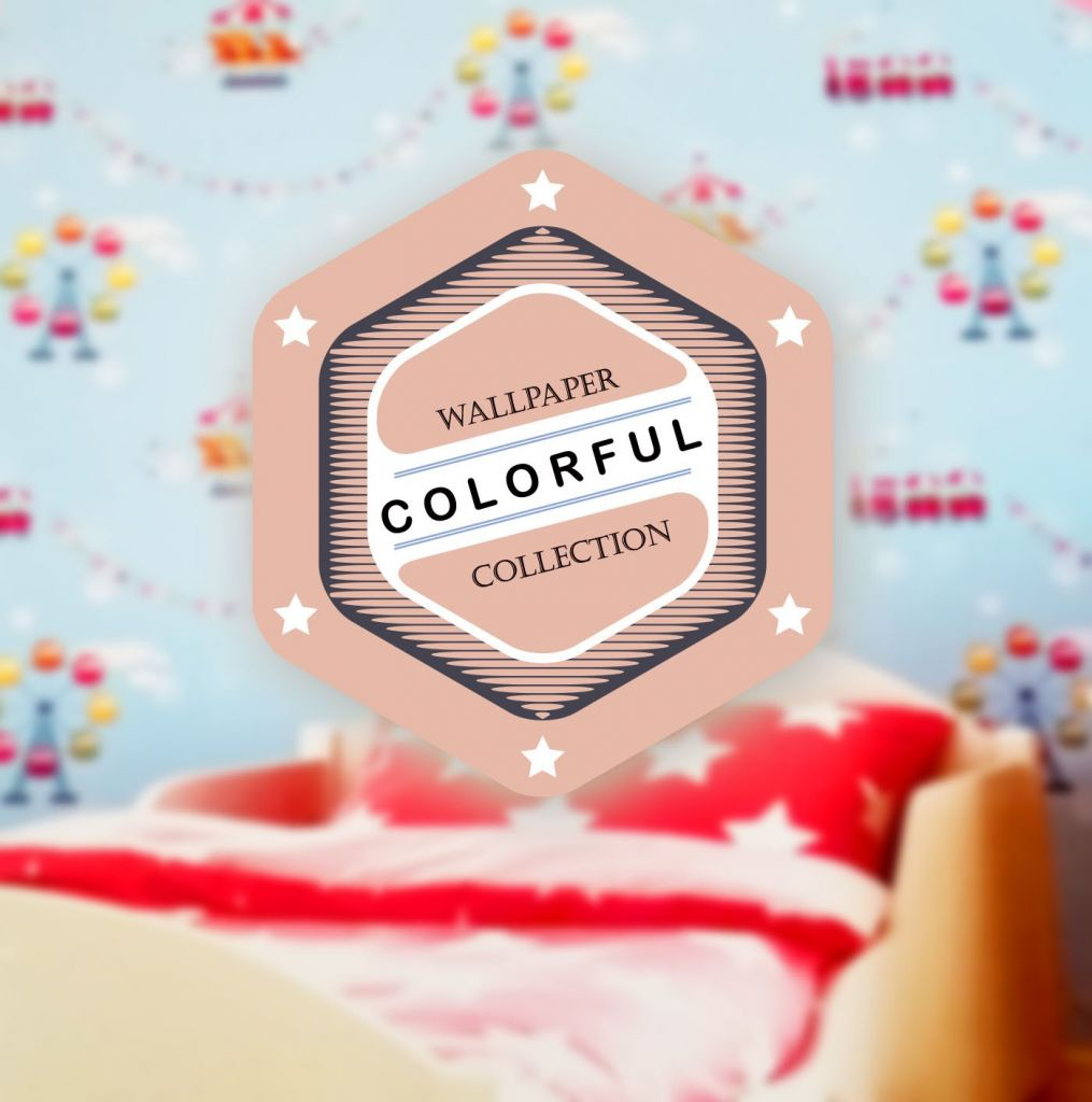 NEW ARRIVAL WALLPAPER DINDING COLORFUL JANUARY 2017