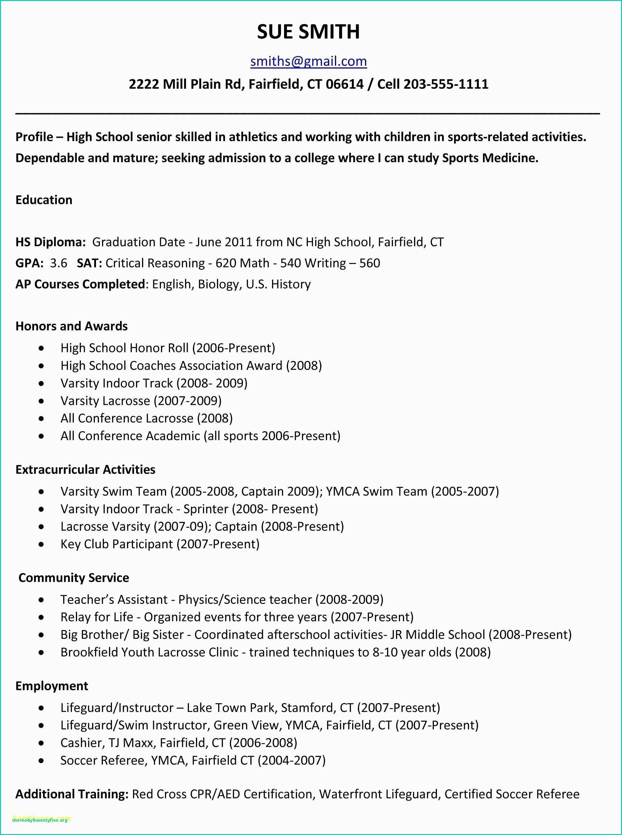 Profile Resume Examples Examples Graduate Schools In Los Angeles