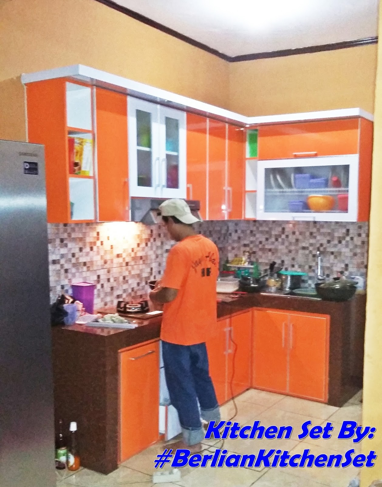 BERLIAN KITCHEN SET MINIMALIS MURAH Dapur Minimalis