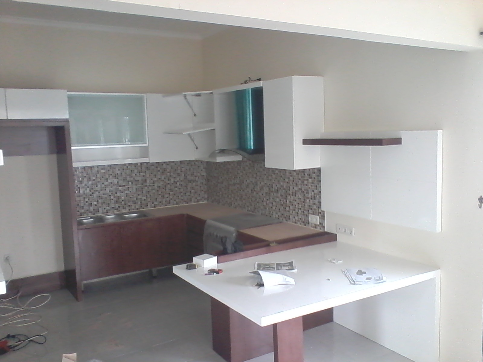 Di Malang Model Kitchen Set Minimalis