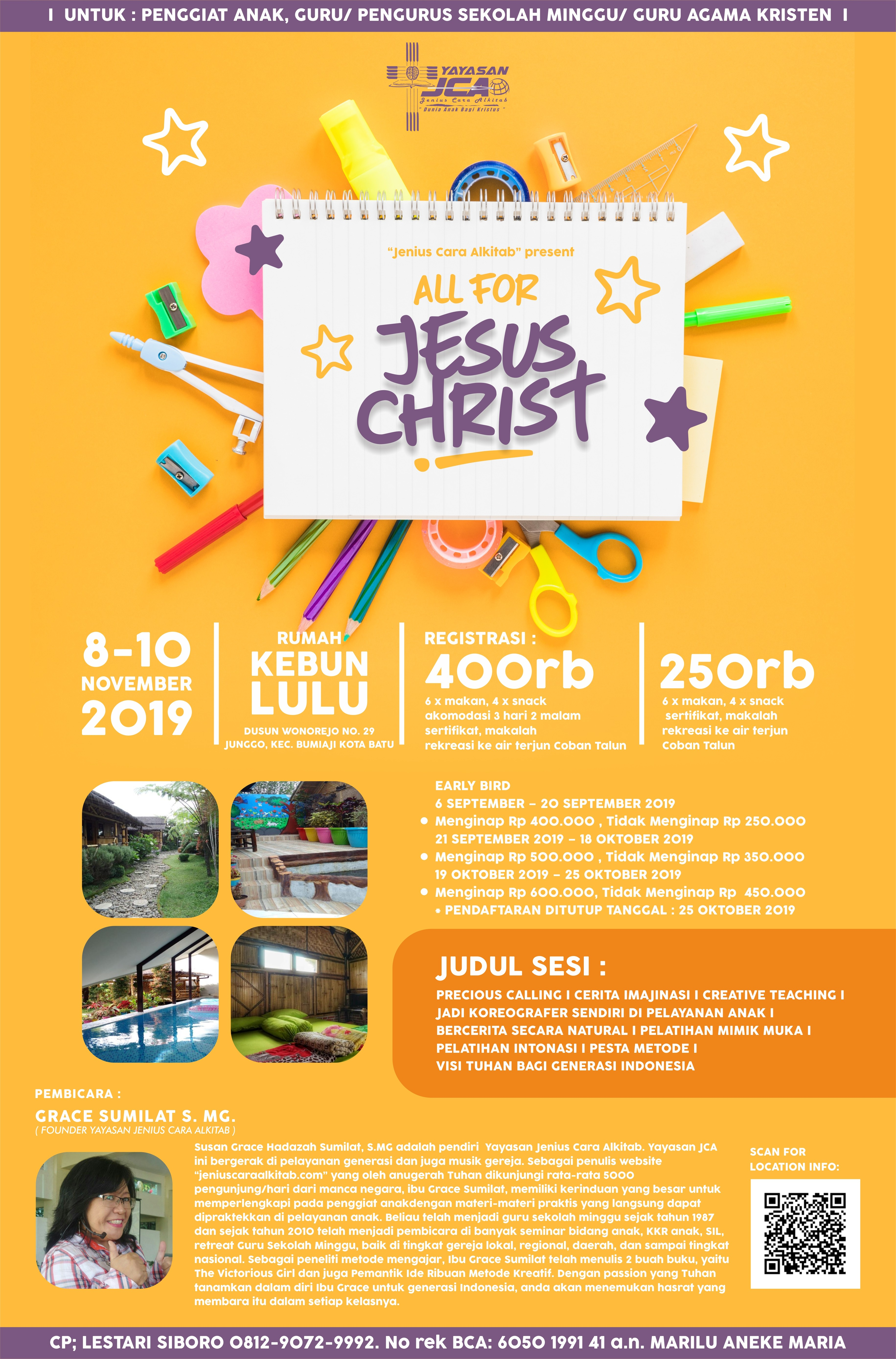 poster all for jesus