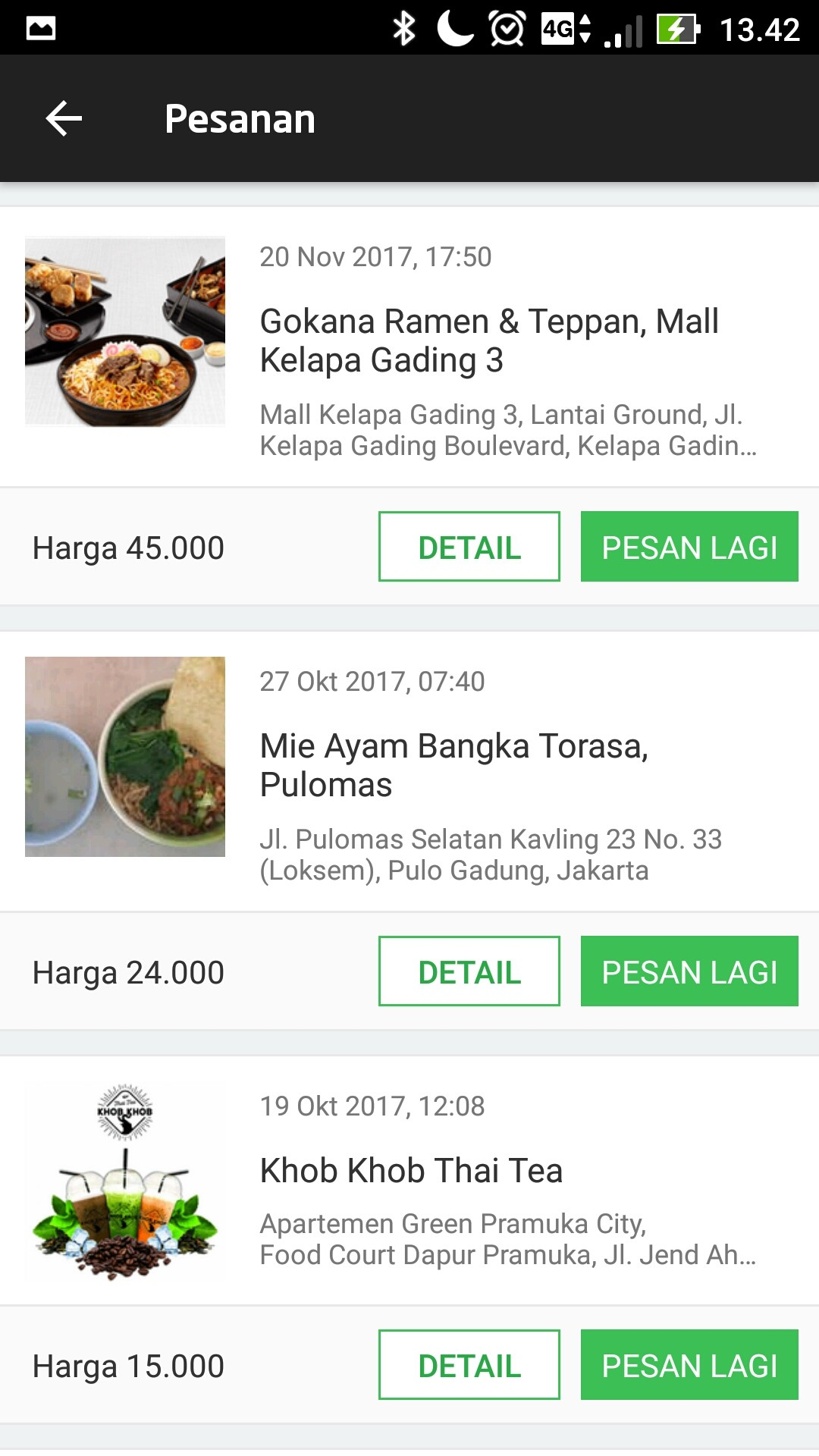 review go food 8